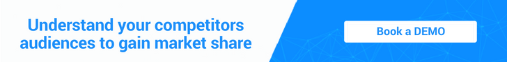 Understand your competitors audiences to gain market share - Book a DEMO