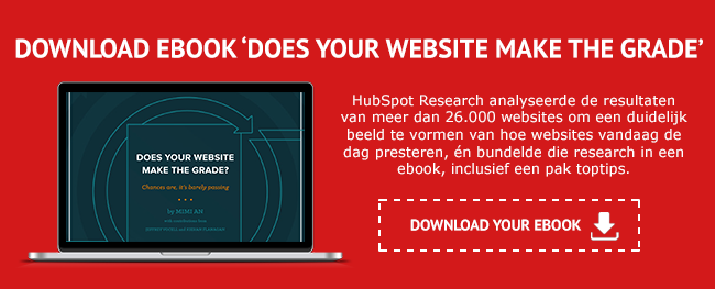 Download het ebook 'Does Your Website Make The Grade""