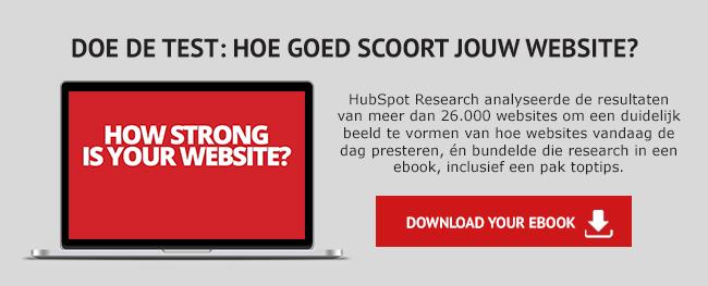 Download nu het ebook 'Does Your Website Make The Grade'
