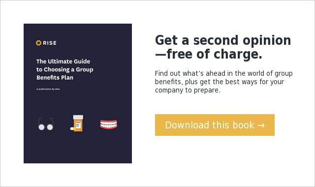 Get a second opinion—free of charge. Find out what's ahead in the world of group benefits, plus get the best ways for your company to prepare. Download this book →