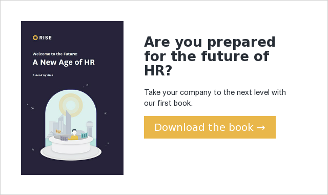 Are you prepared for the future of HR? Take your company to the next level with our first book. Download the book →