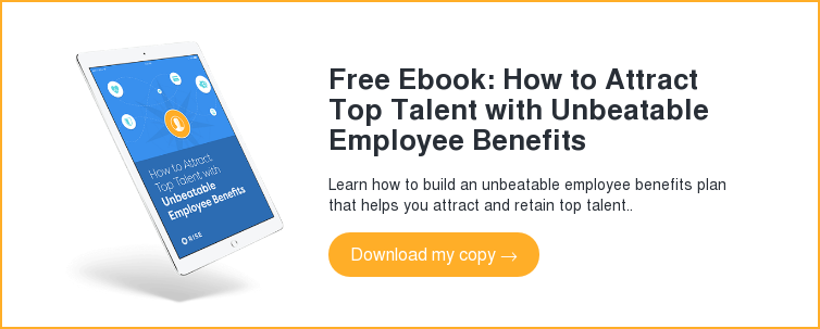 Free Ebook: How to Attract Top Talent with Unbeatable Employee Benefits Learn how to build an unbeatable employee benefits plan that helps you attract and retain top talent.. Download my copy →