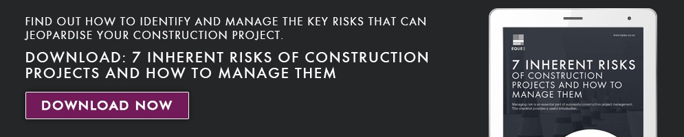 7 Inherent Risks of Construction Projects and How to Manage Them