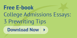 Download this free e-book College Admissions Essays: 3 Prewriting Tips