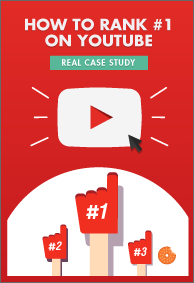 Free eBook on How To Rank #1 on YouTube