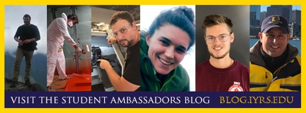 Visit the IYRS Student Ambassadors Blog