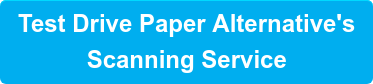 Test Drive Paper Alternative's Scanning Service
