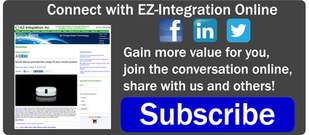 Connect with EZ-Integration Online