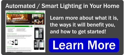 Learn more about adding automated / smart lighting to your home