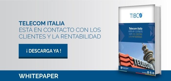 telecomo italia esta en contacto con los clientes y la rentabilidad