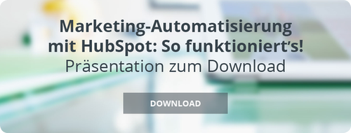 Marketing Automatisierung mit HubSpot