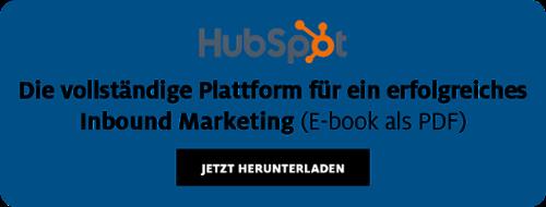 HubSpot die vollständige Plattform für erfolgreiches Inbound Marketing Ebook als PDF