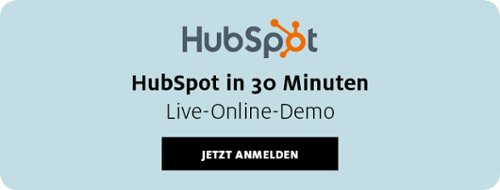 HubSpot Live-Online-Demo von Kammann Rossi