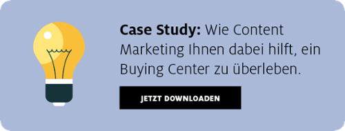 Content Marketing für B2B Buying Center