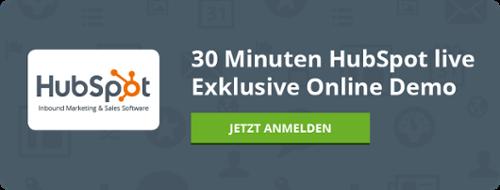 Live-Online-Demo HubSpot