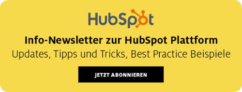 Info-Newsletter zur HubSpot Plattform
