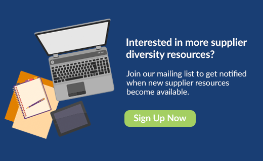 More Supplier Diversity Resources