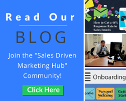 "Subscribe to the xoombi blog community called ""The Sales and Marketing Hub"""