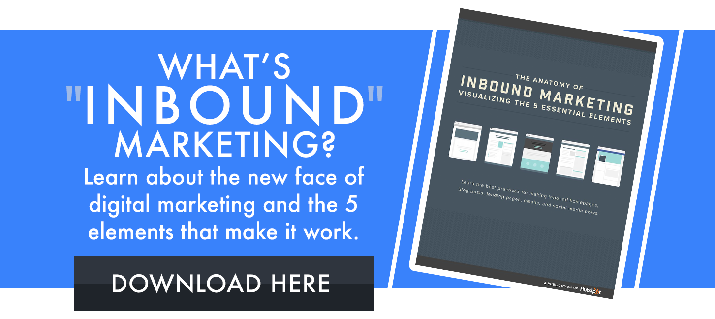 anatomy of inbound marketing ebook CTA