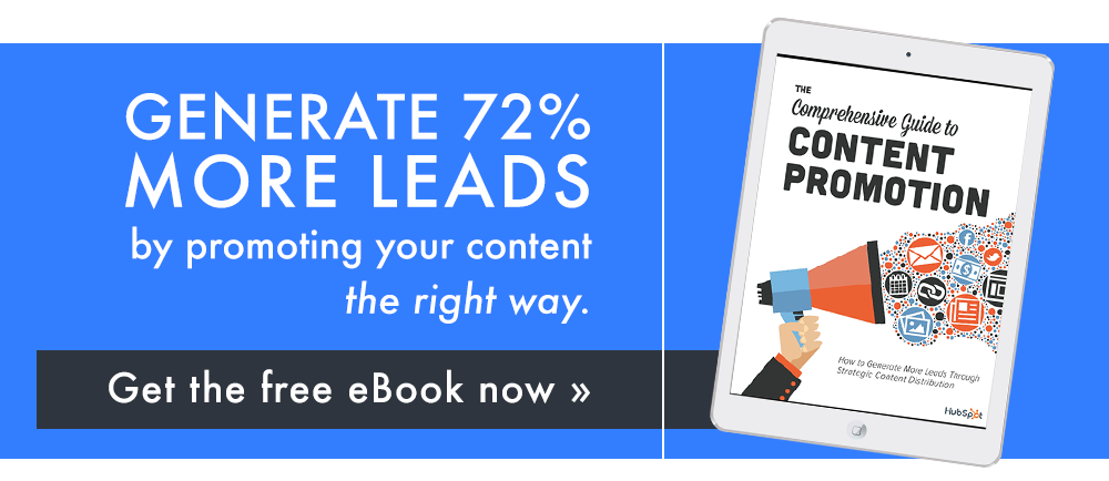content promotion ebook CTA