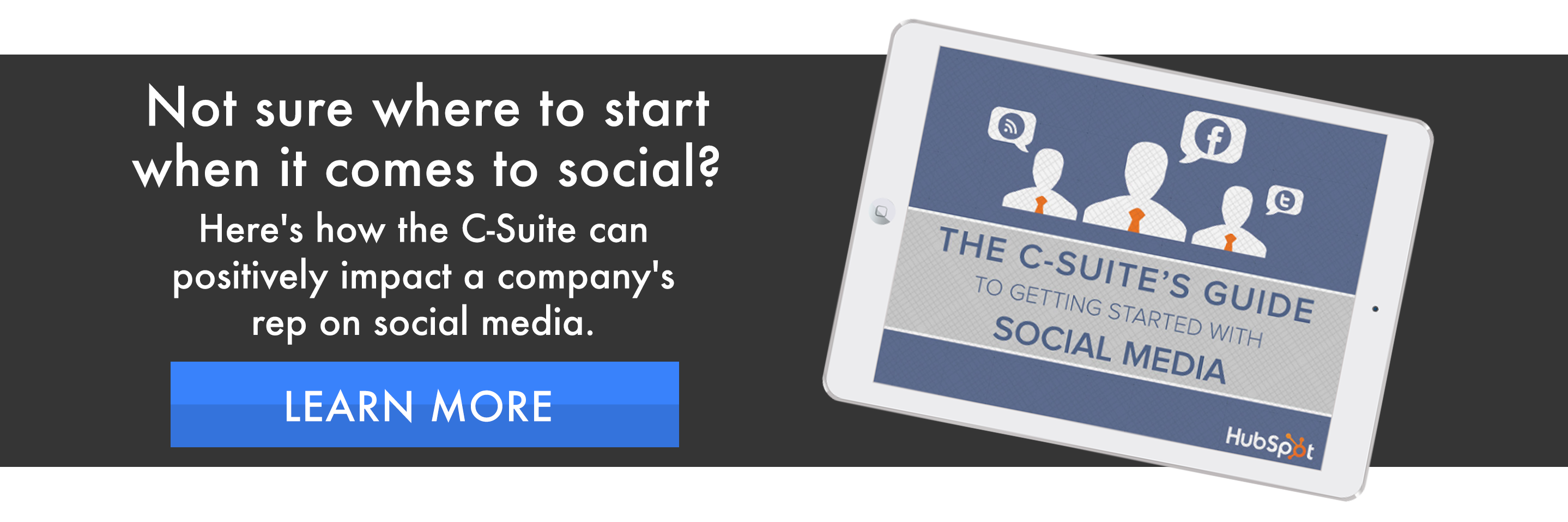 c suite on social media ebook