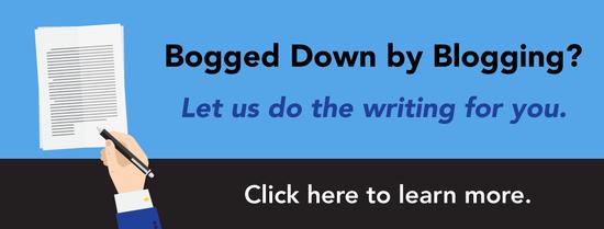 blog writing services CTA