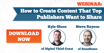 How to create content that top publishers will want to share