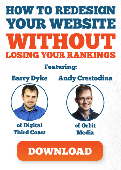 How to redesign your website without losing your rankings