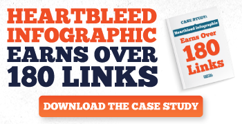 How our infographic increased earned over 180 links