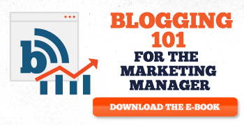 A guide to blogging for marketing mangers and small businesses.