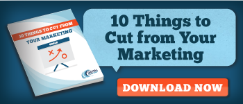 Download button for our 10 Things to Cut from Your Marketing ebook