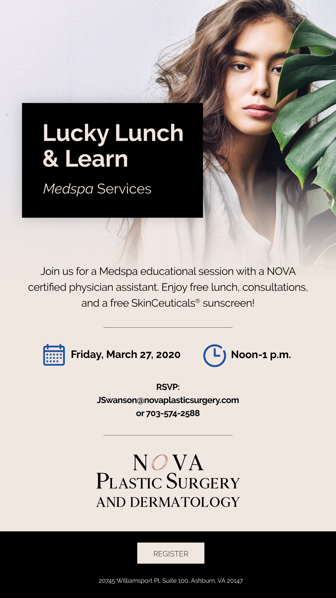 NOVA Lucky Lunch & Learn—Medspa Services