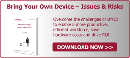 Bring Your Own Device (BYOD) - Issues and Risks