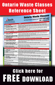 Ontario Waste Classes Sheet - Free Download