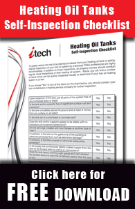 heating oil tanks self-inspection checklist