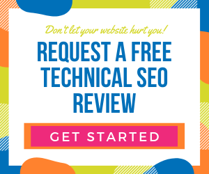 Request a free technical SEO review of your website
