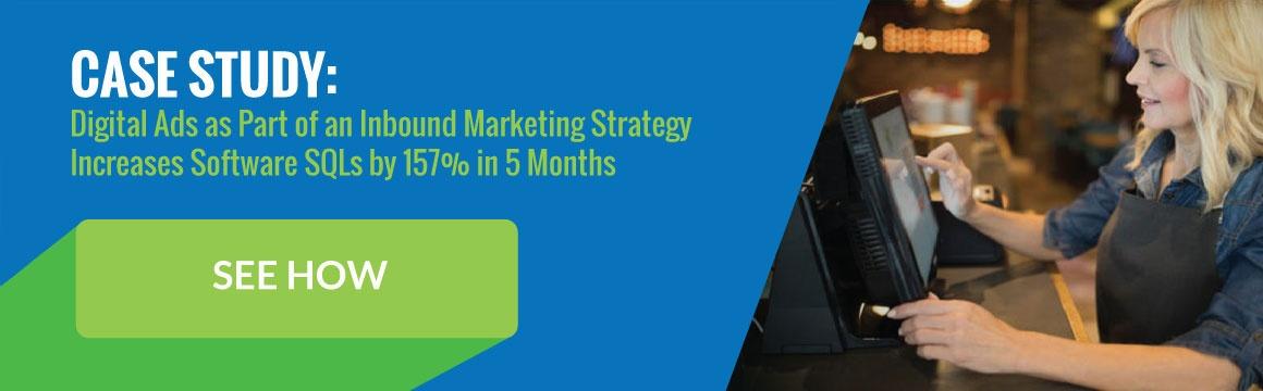 Case Study for Digital Ads for Inbound Marketing Strategy