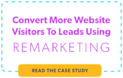 Convert more website visitors to leads with remarketing