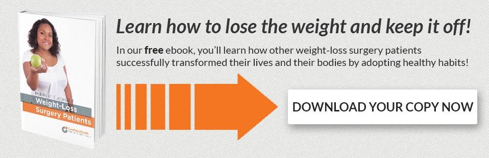 Free ebook: Habits of Successful Weight-loss Surgery Patients