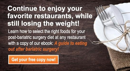 Guide to eating out ebook post bariatric surgery