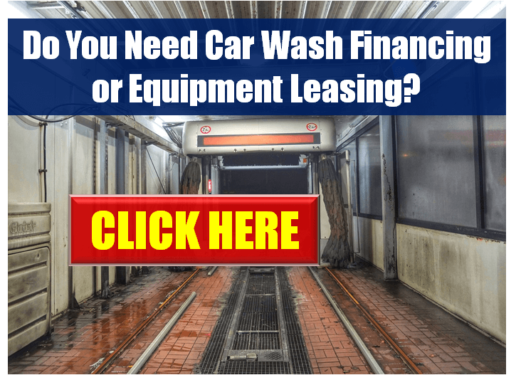 Car Wash Equipment Loans