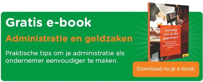 Gratis ebook administratie en geldzaken
