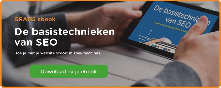 Download nu je ebook - basistechnieken SEO