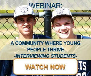 Webinar: A Community Where Young People Thrive - Interviewing Students