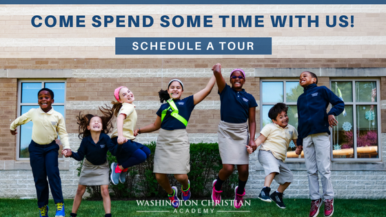 Schedule a Tour of Washington Christian Academy