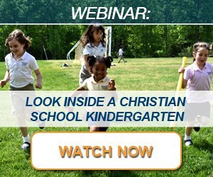 Webinar: Look Inside a Christian School Kindergarten