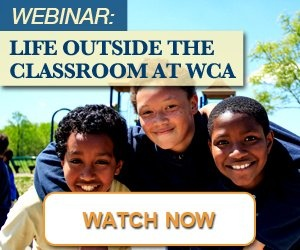 Webinar: Life Outside the Classroom at WCA