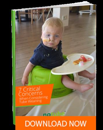 Les 7 principales inquiétudes des parents qui envisagent le sevrage de la sonde