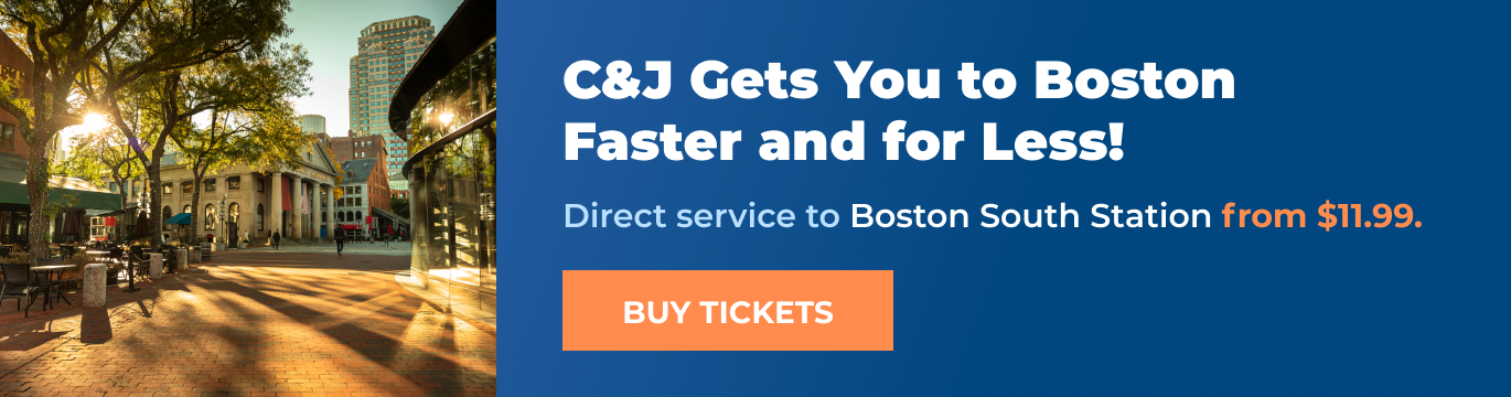 Buy C&J Bus Tickets to Boston