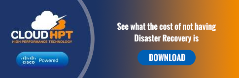 see what the cost of not having disaster recovery is